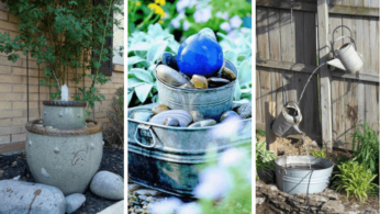 24 идеи фонтана в вашем саду 12 | Дока-Мастер