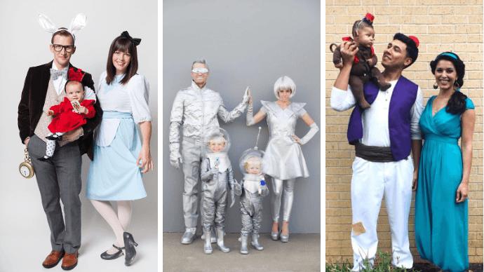 Семейные костюмы на Хэллоуин 1   Дока-Мастер
