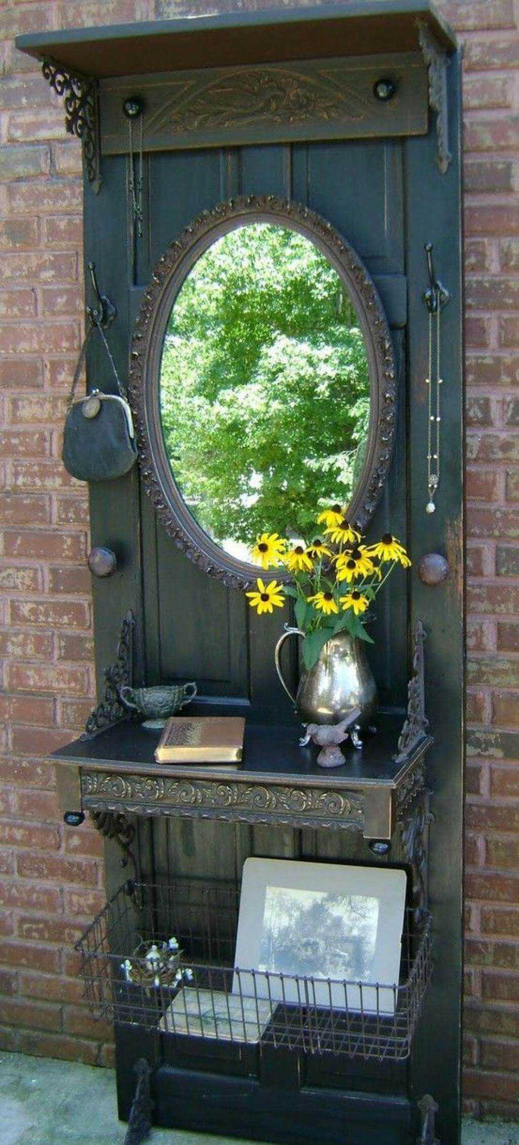 Что сделать из старой двери