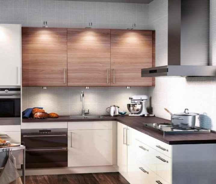 Квадратные кухни для небольших пространств 1   Дока-Мастер