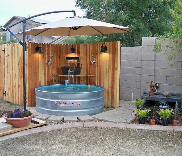 Как сделать бюджетный бассейн во дворе 1 | Дока-Мастер
