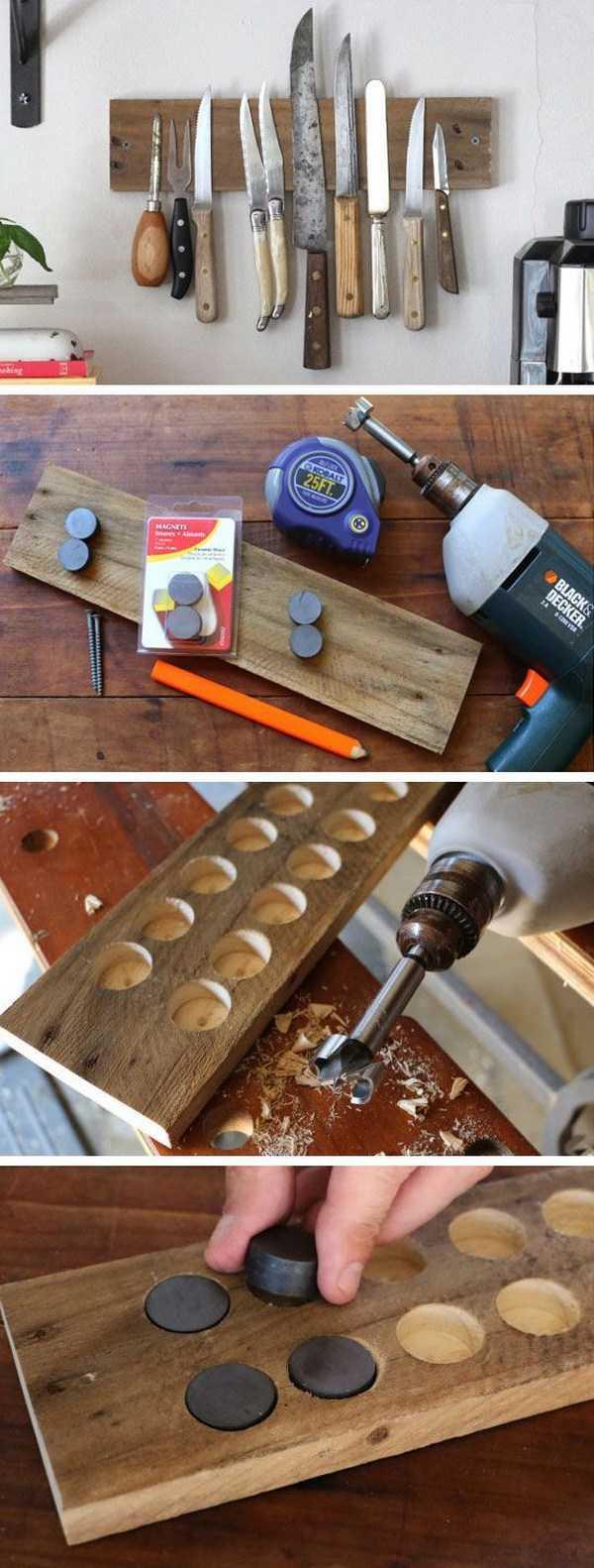 Как хранить вещи дома при помощи магнитов 1 | Дока-Мастер