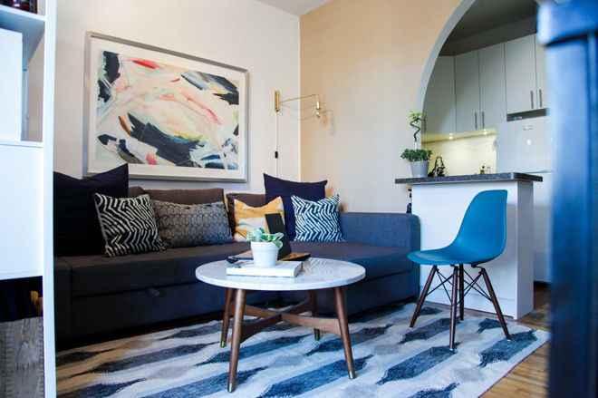 Как комбинировать мебель в небольшой комнате