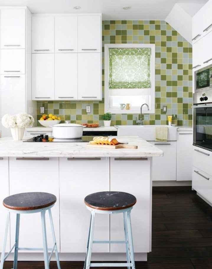 Квадратные кухни для небольших пространств 10   Дока-Мастер
