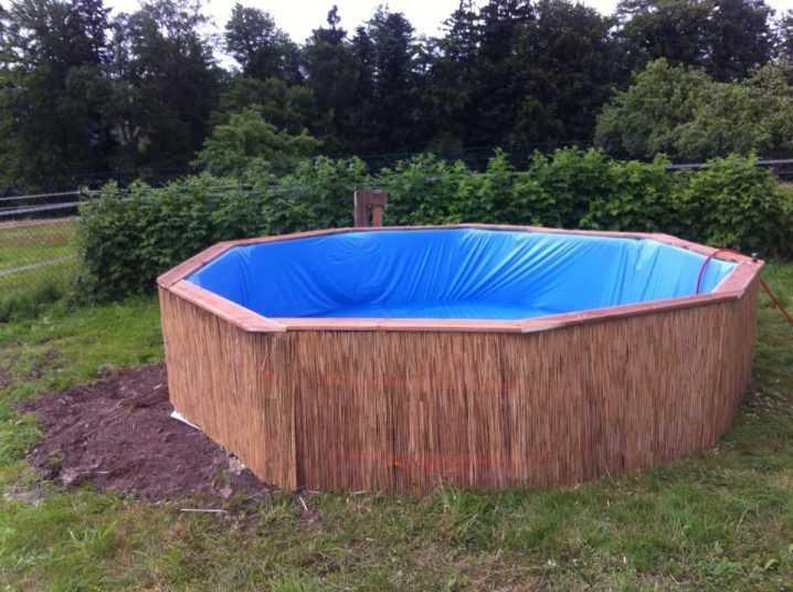 Как сделать бюджетный бассейн во дворе 10 | Дока-Мастер