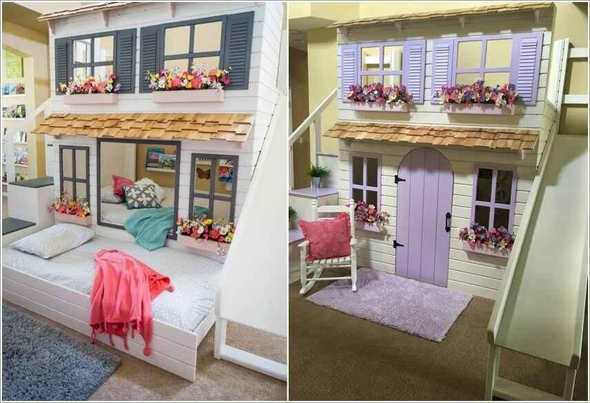 Кровати для маленьких квартир. Оригинальные идеи 10 | Дока-Мастер
