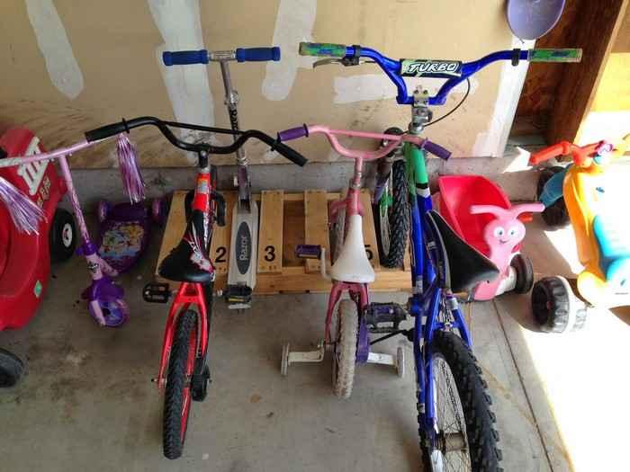 Как сделать стойку для велосипедов из поддонов 12 | Дока-Мастер