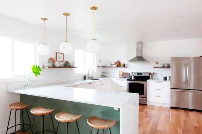13 идей освещения для кухни 12 | Дока-Мастер