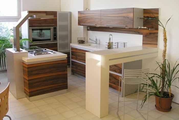 Квадратные кухни для небольших пространств 12   Дока-Мастер