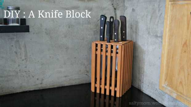 Продуманные способы организации ножей, которые Вам покажутся действительно полезными