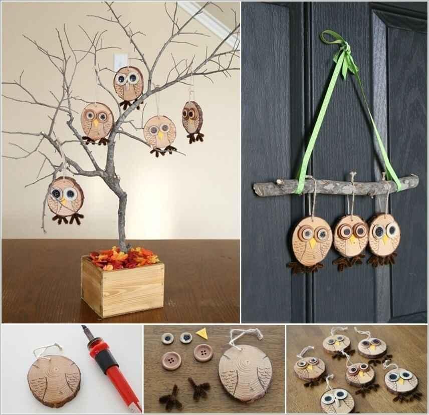 15 проектов предметов декора из спилов дерева 14 | Дока-Мастер