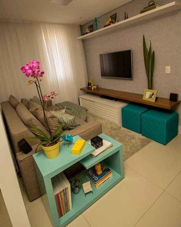 25 идей оформления маленьких гостиных