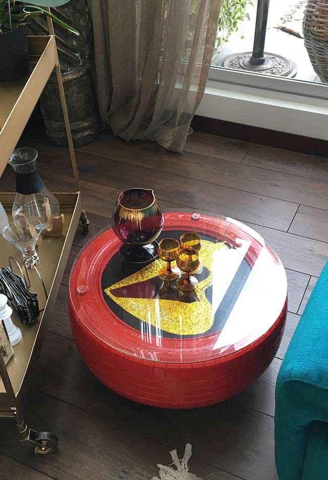 25 идей использования шин для украшения интерьера