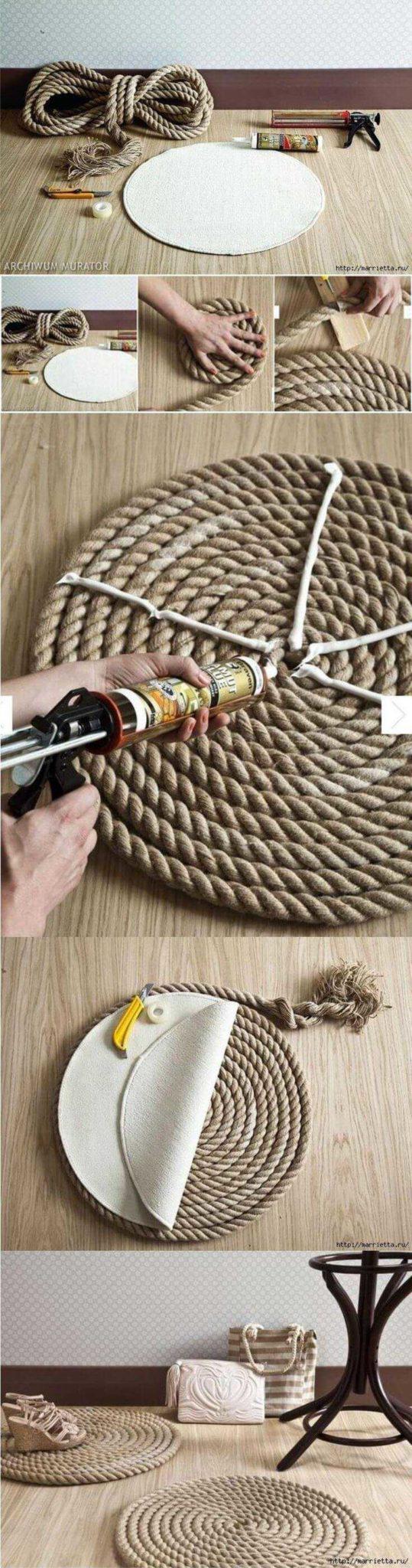 Творческие проекты из веревки сделанные своими руками 19 | Дока-Мастер