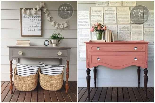 10 способов украсить дом с переделанной мебелью 2 | Дока-Мастер