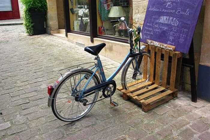 Как сделать стойку для велосипедов из поддонов 2 | Дока-Мастер