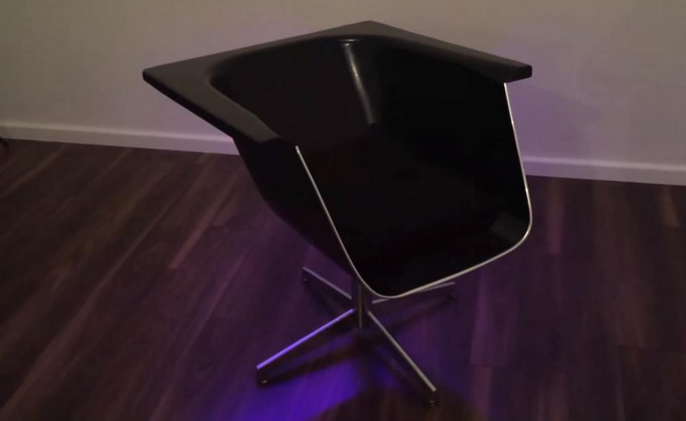 Как сделать современное кресло из старой ванны 2 | Дока-Мастер