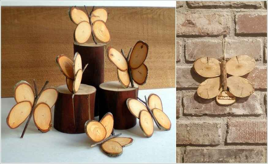 15 проектов предметов декора из спилов дерева 3 | Дока-Мастер