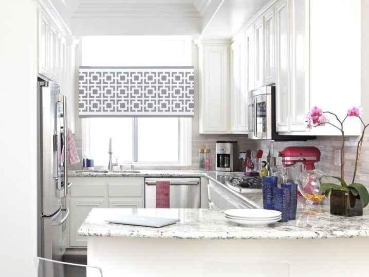 Квадратные кухни для небольших пространств 2   Дока-Мастер