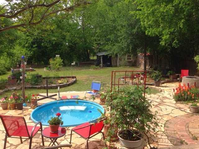 Как сделать бюджетный бассейн во дворе 2 | Дока-Мастер