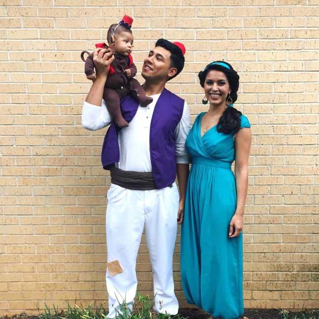 Семейные костюмы на Хэллоуин