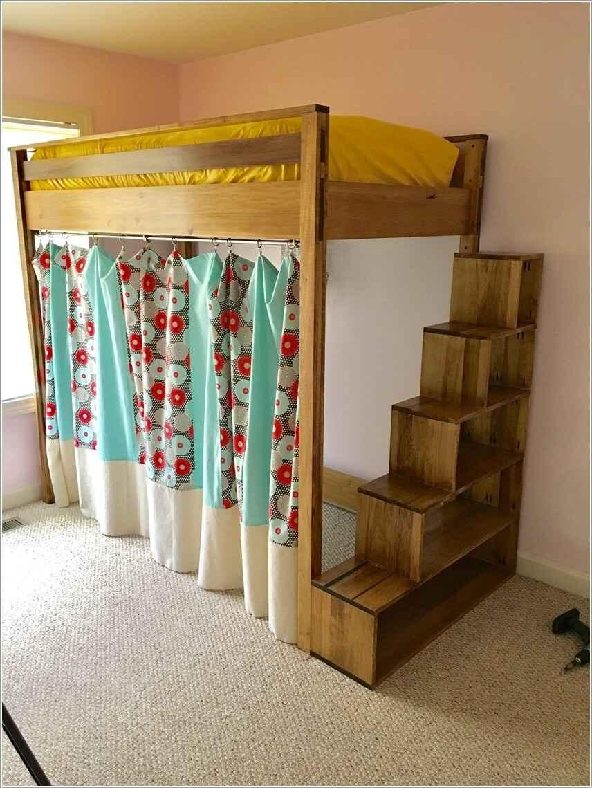 Кровати для маленьких квартир. Оригинальные идеи 2 | Дока-Мастер