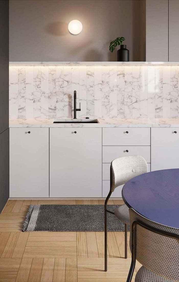 Облицовочные материалы для стен: камни и мрамор, керамогранит