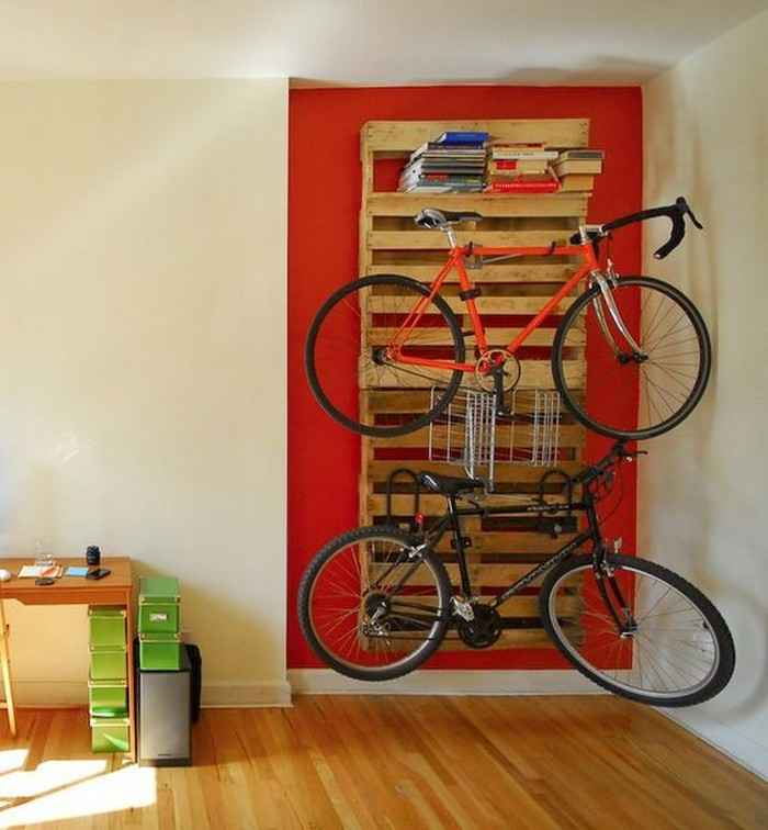 Как сделать стойку для велосипедов из поддонов 3 | Дока-Мастер