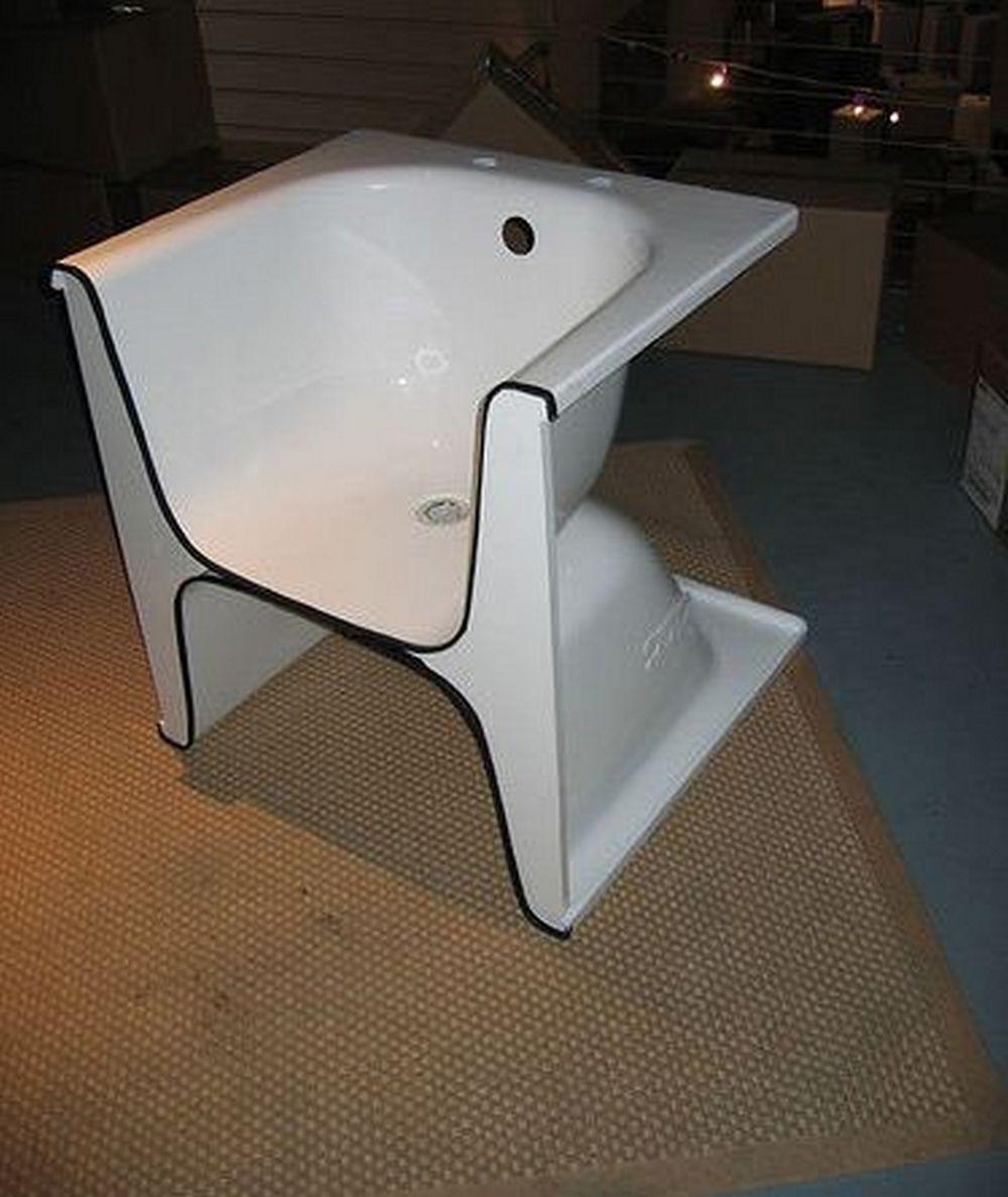 Как сделать современное кресло из старой ванны 3 | Дока-Мастер