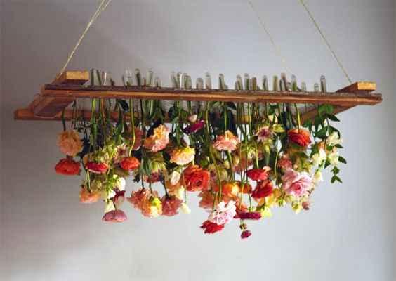 Цветочные люстры: новый тренд в украшении интерьера