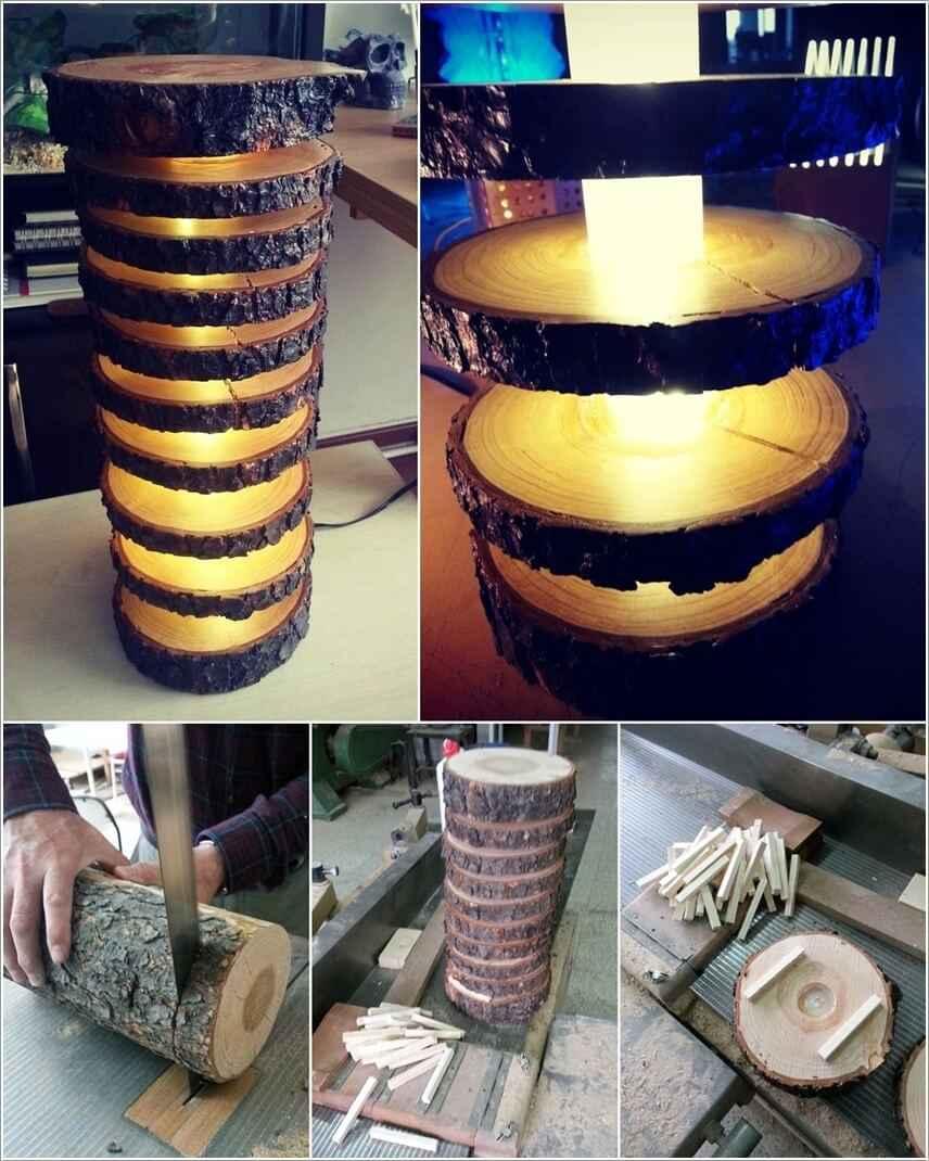 15 проектов предметов декора из спилов дерева 4 | Дока-Мастер