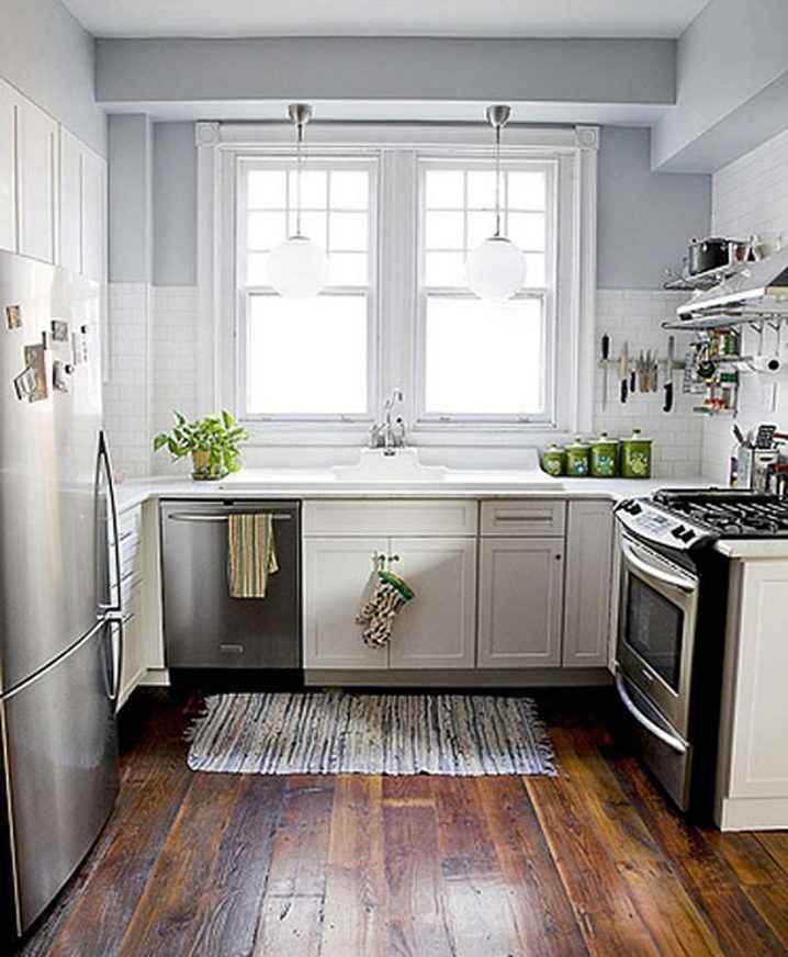 Квадратные кухни для небольших пространств 3   Дока-Мастер
