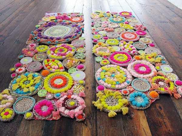 Необычные идеи ковриков перед дверью 3 | Дока-Мастер