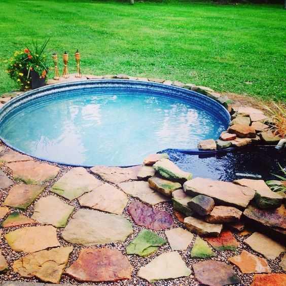 Как сделать бюджетный бассейн во дворе 3 | Дока-Мастер