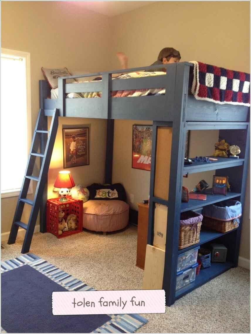 Кровати для маленьких квартир. Оригинальные идеи 3 | Дока-Мастер