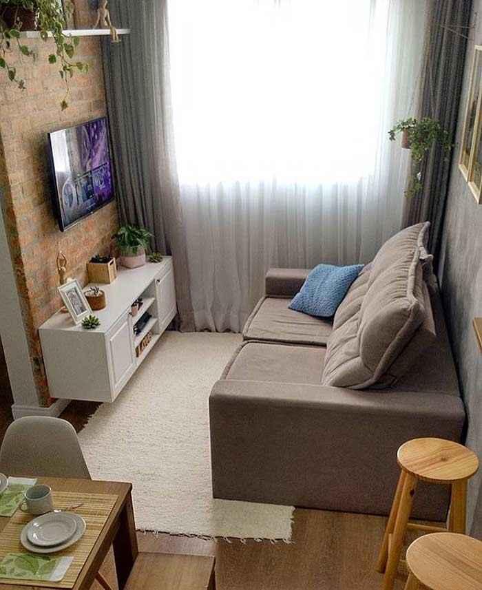 30 идей дизайна маленьких гостиных