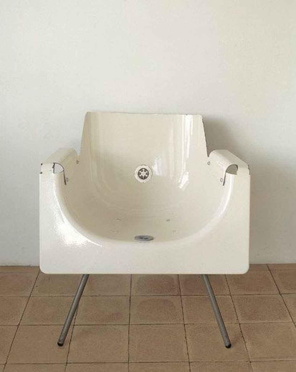 Как сделать современное кресло из старой ванны 4 | Дока-Мастер