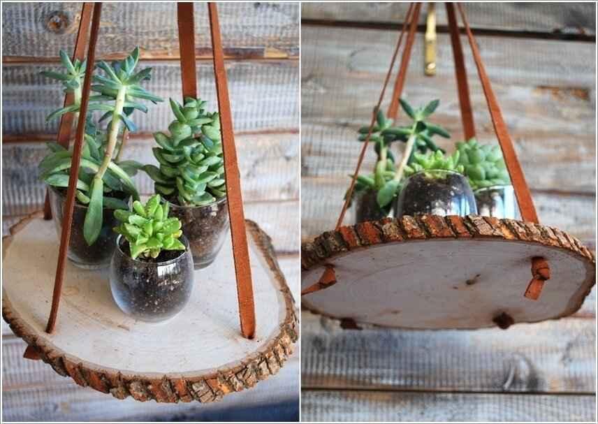 15 проектов предметов декора из спилов дерева 5 | Дока-Мастер