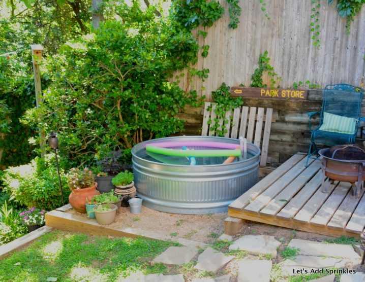 Как сделать бюджетный бассейн во дворе 4 | Дока-Мастер
