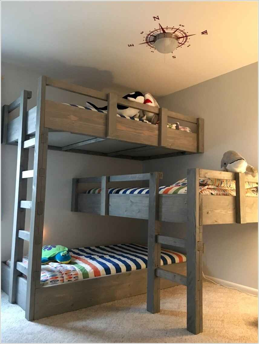 Кровати для маленьких квартир. Оригинальные идеи 4 | Дока-Мастер