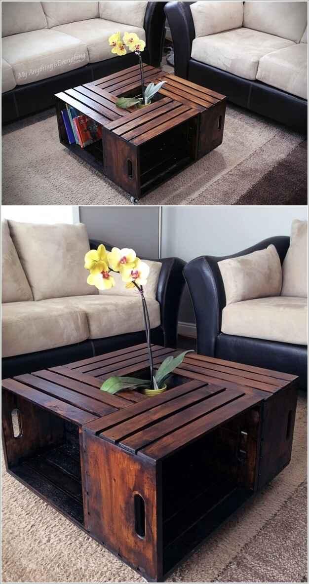 10 идей мебели из ящиков