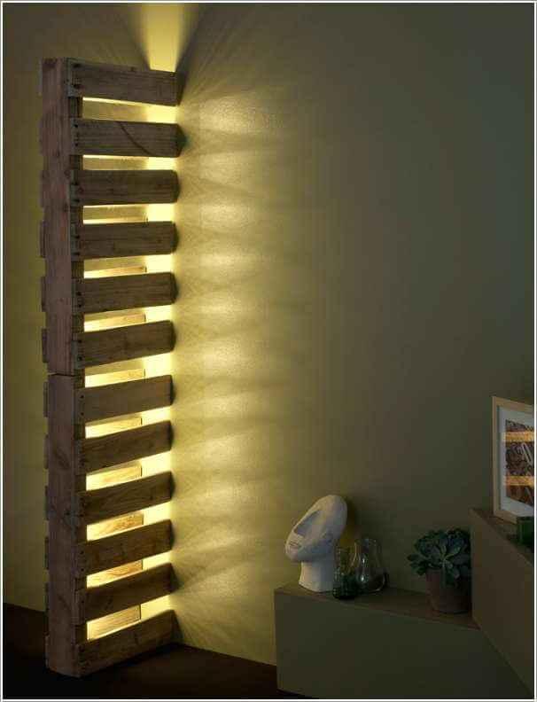 10 необычных настенных светильников 5 | Дока-Мастер