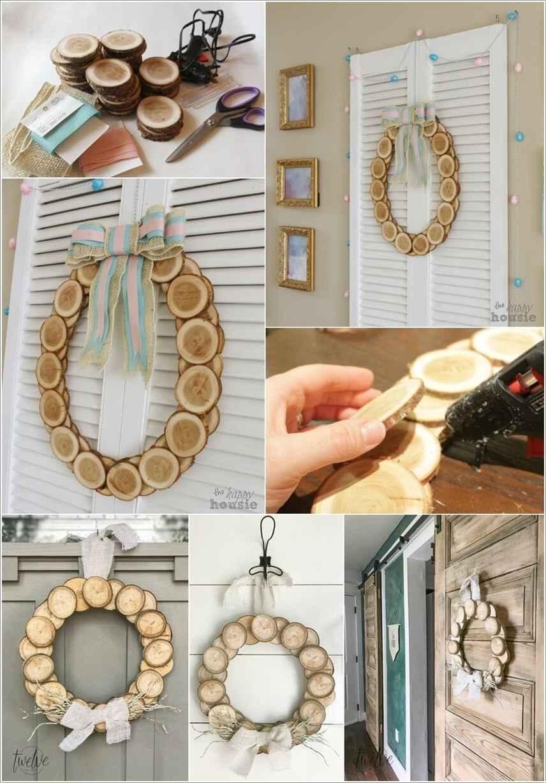 15 проектов предметов декора из спилов дерева 6 | Дока-Мастер