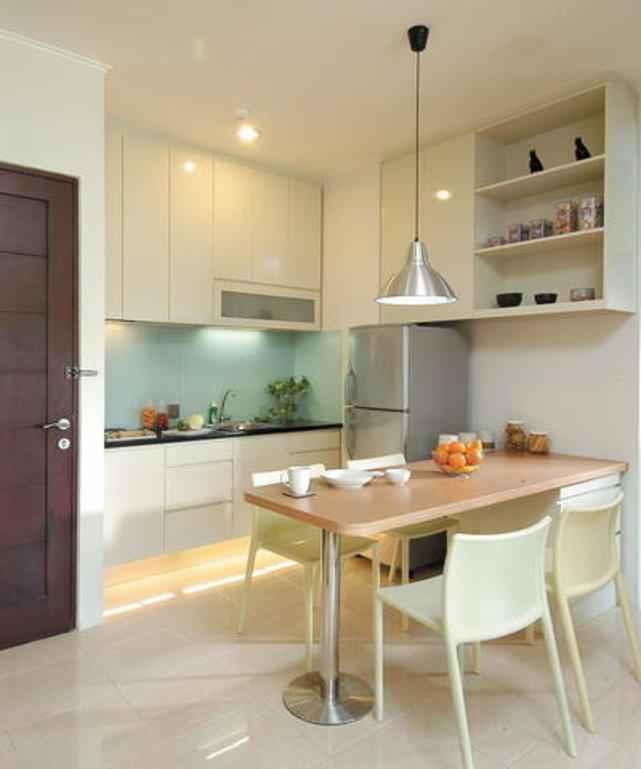 Квадратные кухни для небольших пространств 5   Дока-Мастер