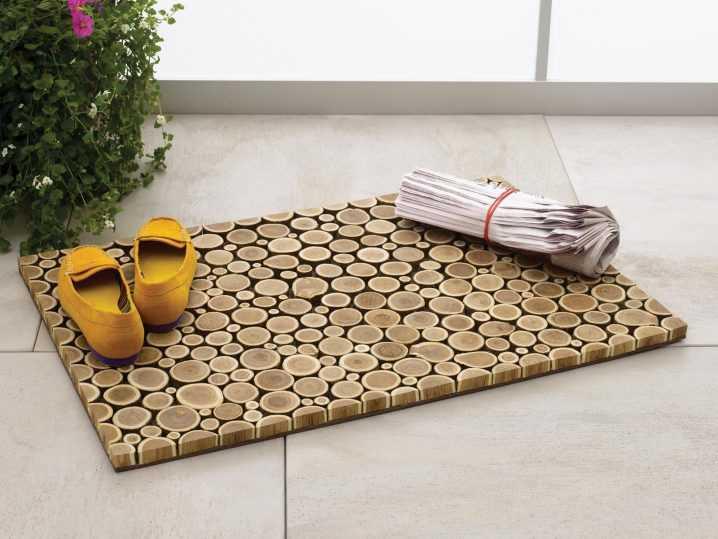 Необычные идеи ковриков перед дверью 5 | Дока-Мастер
