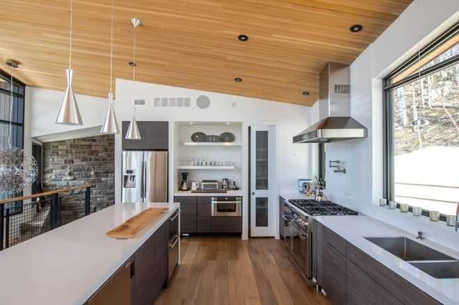 13 идей освещения для кухни 6 | Дока-Мастер