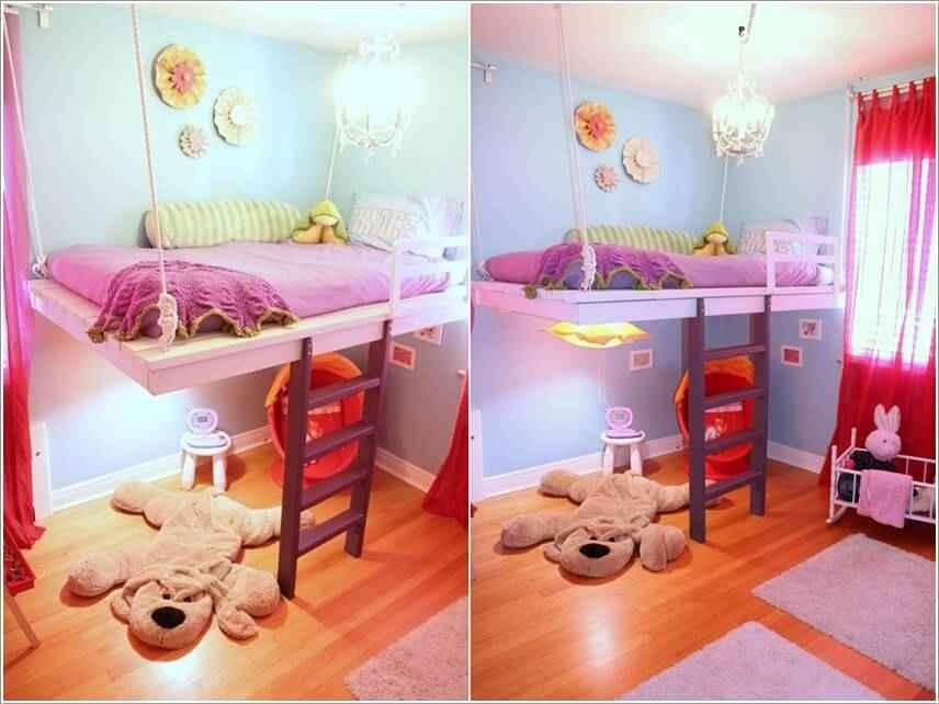 Кровати для маленьких квартир. Оригинальные идеи 5 | Дока-Мастер