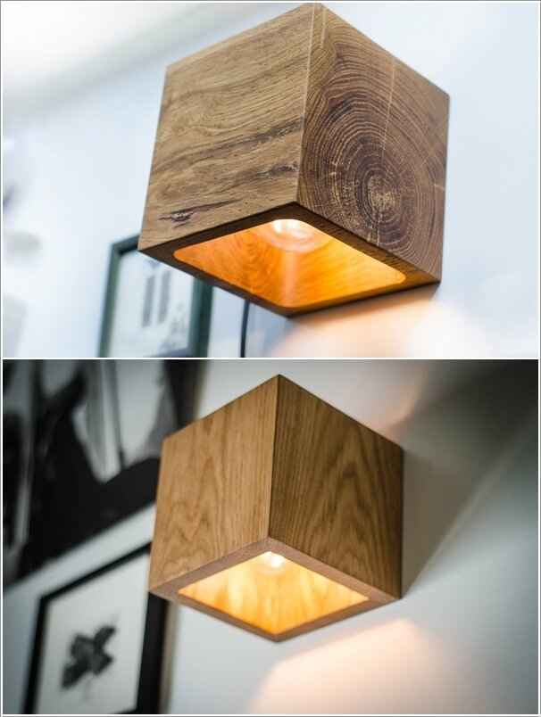 10 необычных настенных светильников 6 | Дока-Мастер