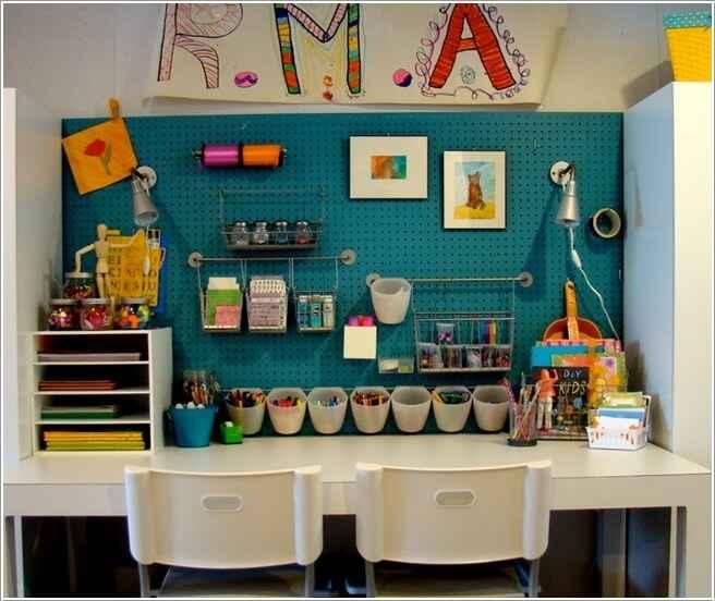13 способов организовать рабочую стену
