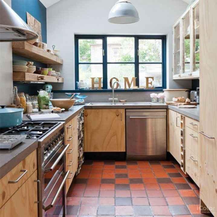 Квадратные кухни для небольших пространств 6   Дока-Мастер